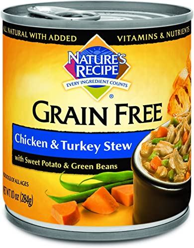 Nature's Recipe Grain Free Wet Dog Food