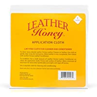 Leather Honey Lint-Free Application Cloth - Perfect for Use with The Best Leather Conditioner Products Since 1968…