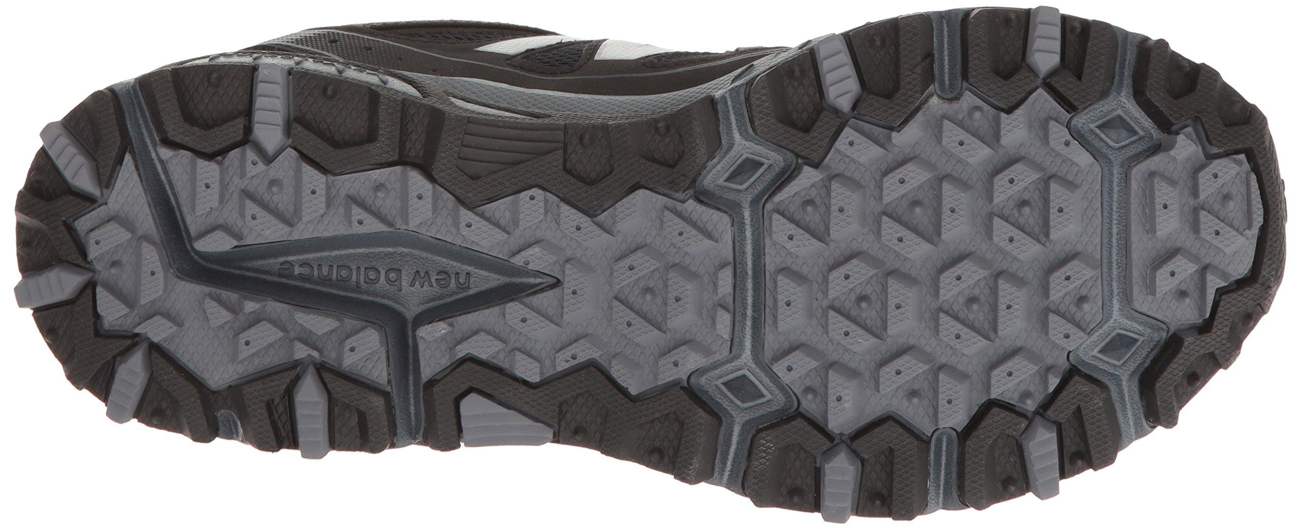 New Balance Men's MT410v5 Cushioning Trail Running Shoe, Black, 7 D US by New Balance (Image #3)