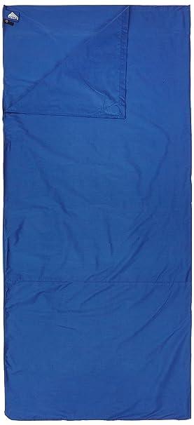 Kelty Reisetasche Polyester/baumwolle Reiselaken - Sábana para saco de dormir, color azul marino
