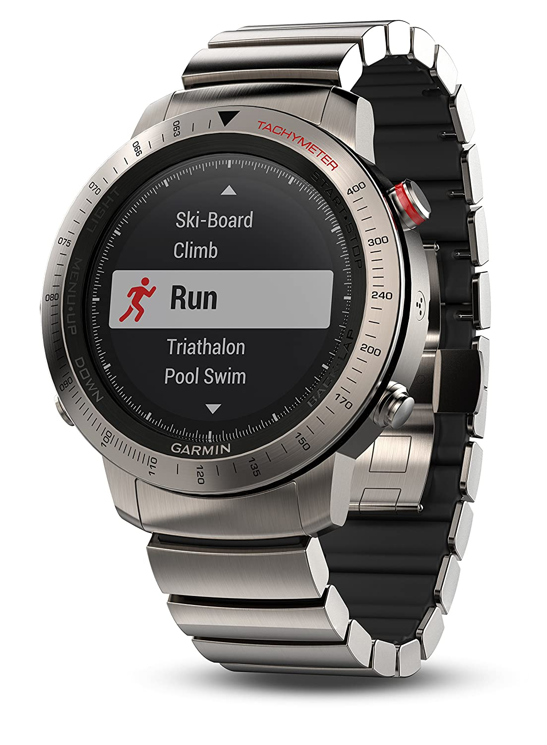 Amazon.com: Garmin Fenix Chronos Titanio Reloj: Sports ...