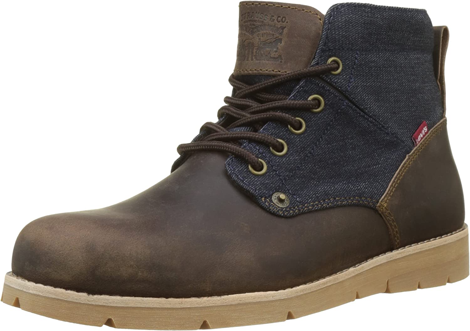 TALLA 43 EU. Levi´S Shoes - Boots Jax 225129-874-29 - Dark Brown