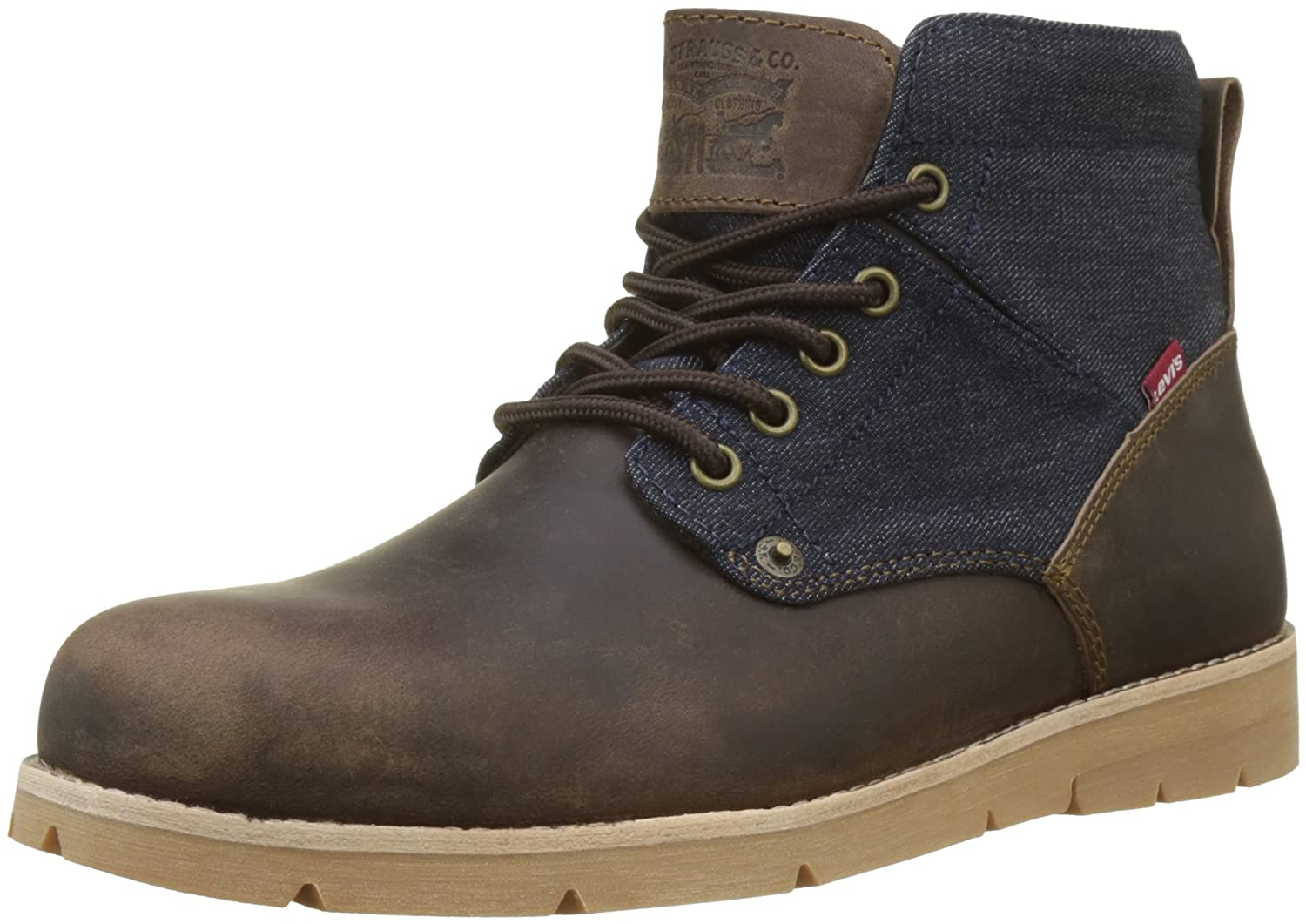 TALLA 44 EU. Levi´S Shoes - Boots Jax 225129-874-29 - Dark Brown