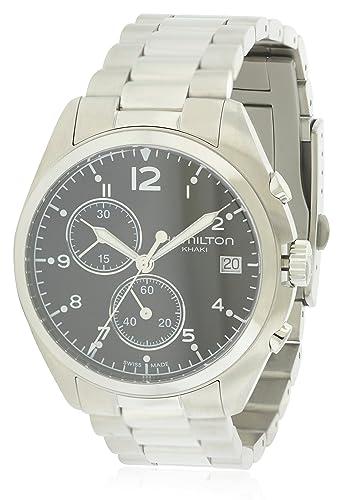 f1a9c87f8 Hamilton Khaki Pilot Pioneer Mens Watch H76512133: Amazon.co.uk: Watches