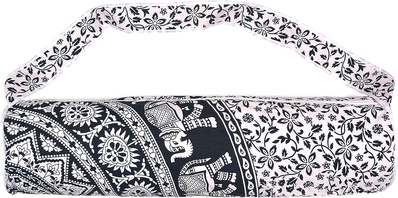 100/% Cotton Yoga Bag Fitness Gym Indian Mandala Ombre Print Men Women