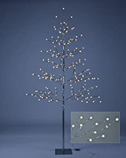 lightshare 6 ft led tree northern lights pre lit tree with 198 led