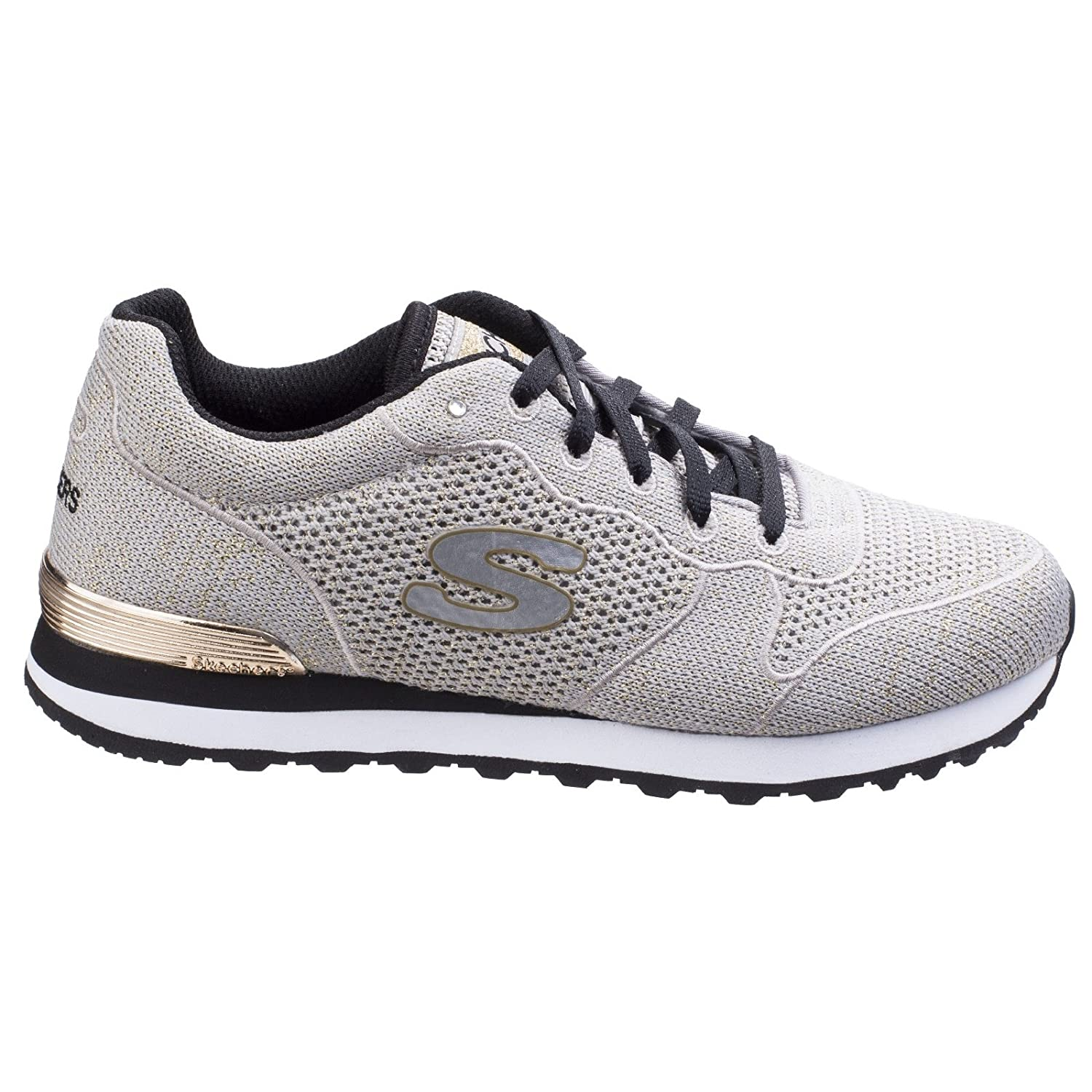 211db23fede1 Skechers Womens Ladies Retro OG 85 Lower Flyer Trainers (4 UK)  (Taupe Gold)  Amazon.co.uk  Clothing