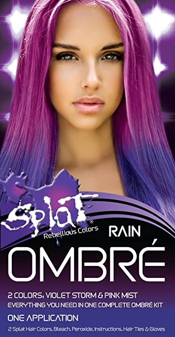 Amazon.com : Splat Rebellious Colors Hair Coloring Complete Kit ...