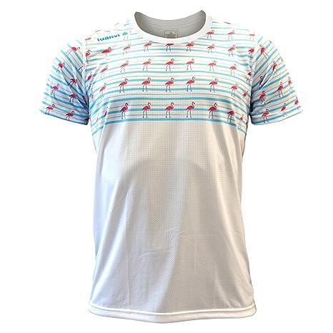 Luanvi Edición Limitada Camiseta técnica Cactus, Hombre, Amarilla, 2XL (60-75cm