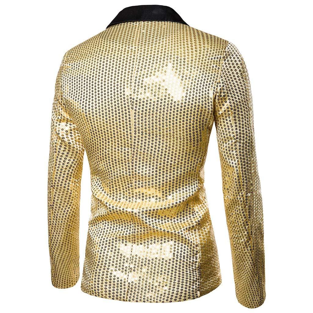 Aniyoge Mens Luxury Party Dress Suit Stylish Suit Jacket Wedding Blazer Prom