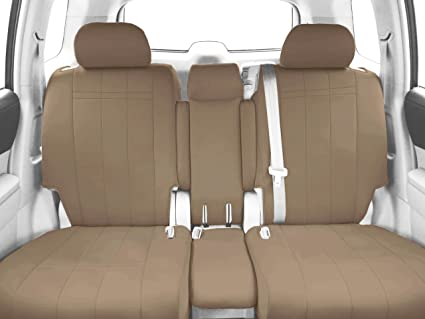 CalTrend Middle Row 40/20/40 Split Bench Custom Fit Seat Cover for Select  Toyota Sienna Models - NeoSupreme (Beige)
