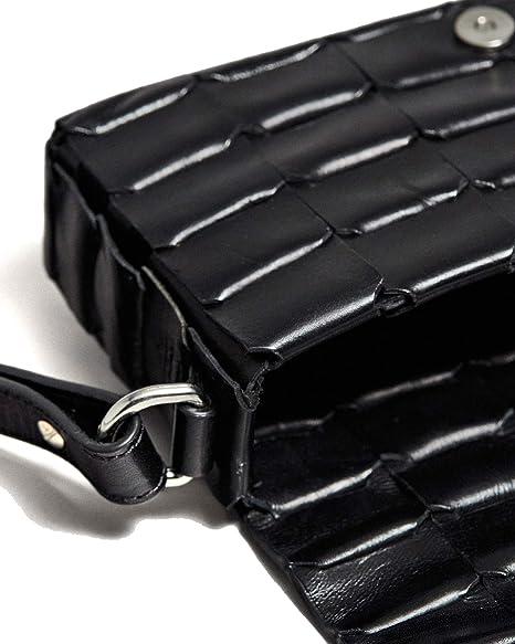 Massimo Dutti 6904/601/800 - Bolso de piel para mujer: Amazon.es: Ropa y accesorios