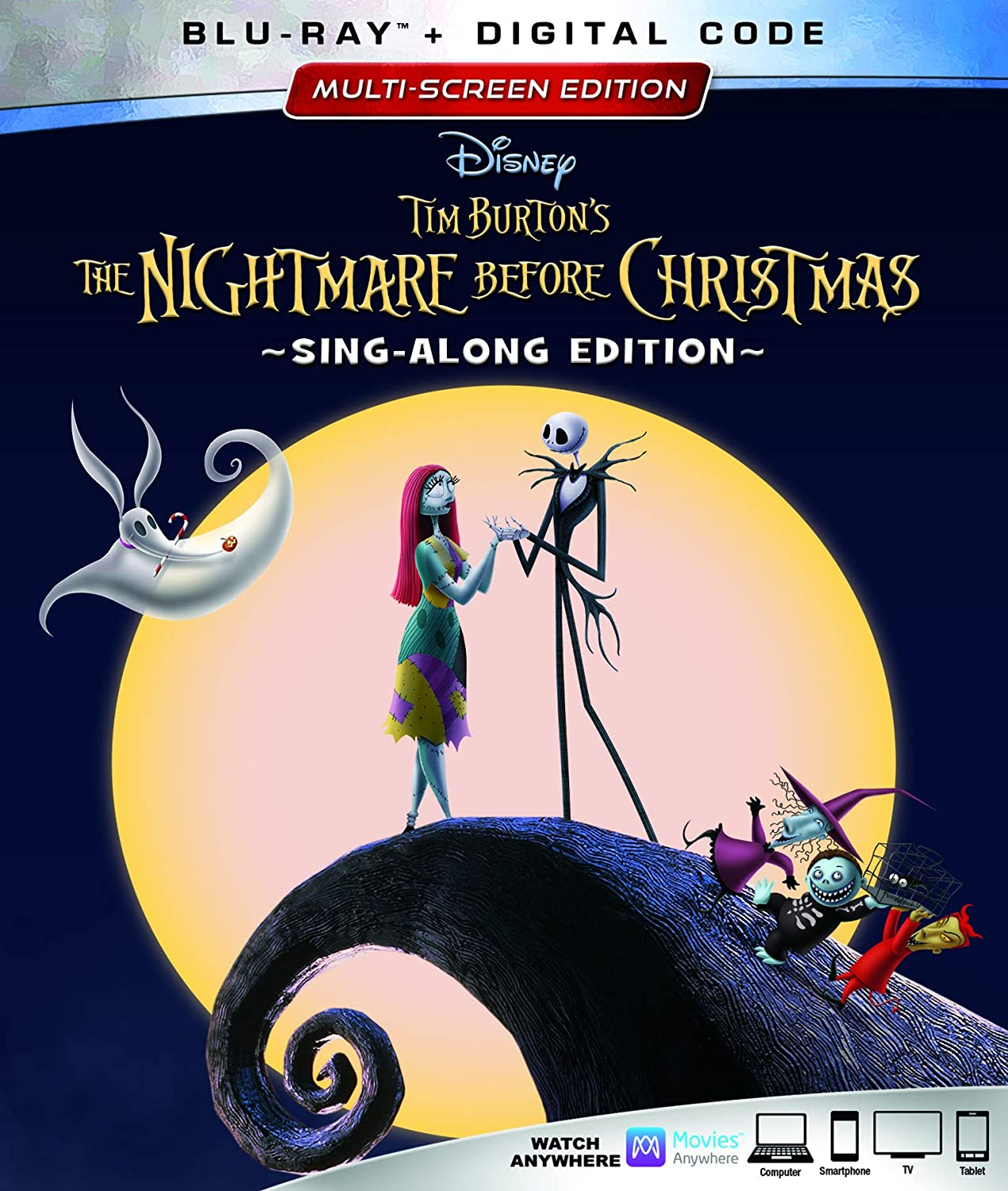 The Nightmare Before Christmas (25th Anniversary Edition) [Blu-ray] Danny Elfman Kerry Katz Mia Brown John Morris