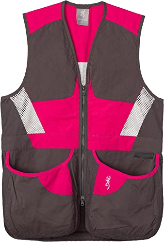 Browning Vest Ladies Summit Smoke/Fuchsi