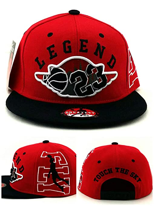 35b96268061 Amazon.com   Greatest 23 Chicago Jordan Bulls Colors Red Black ...