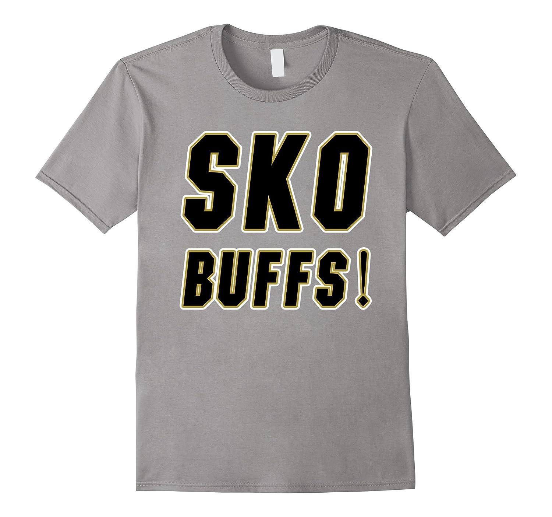 Sko Buffs T-Shirt Colorado Sports Fans Buffaloes Tee-RT