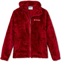 Columbia Youth Fire Side Chaqueta Sherpa para niña