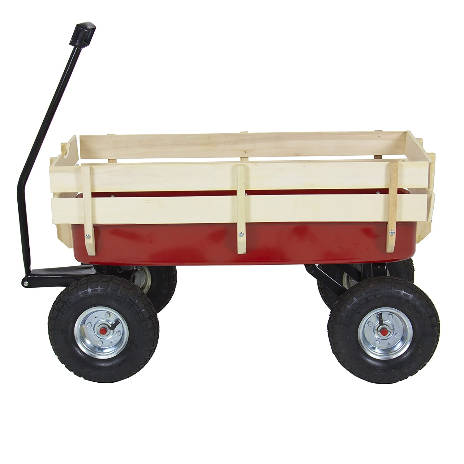 Best Choice Products Wood Wagon2