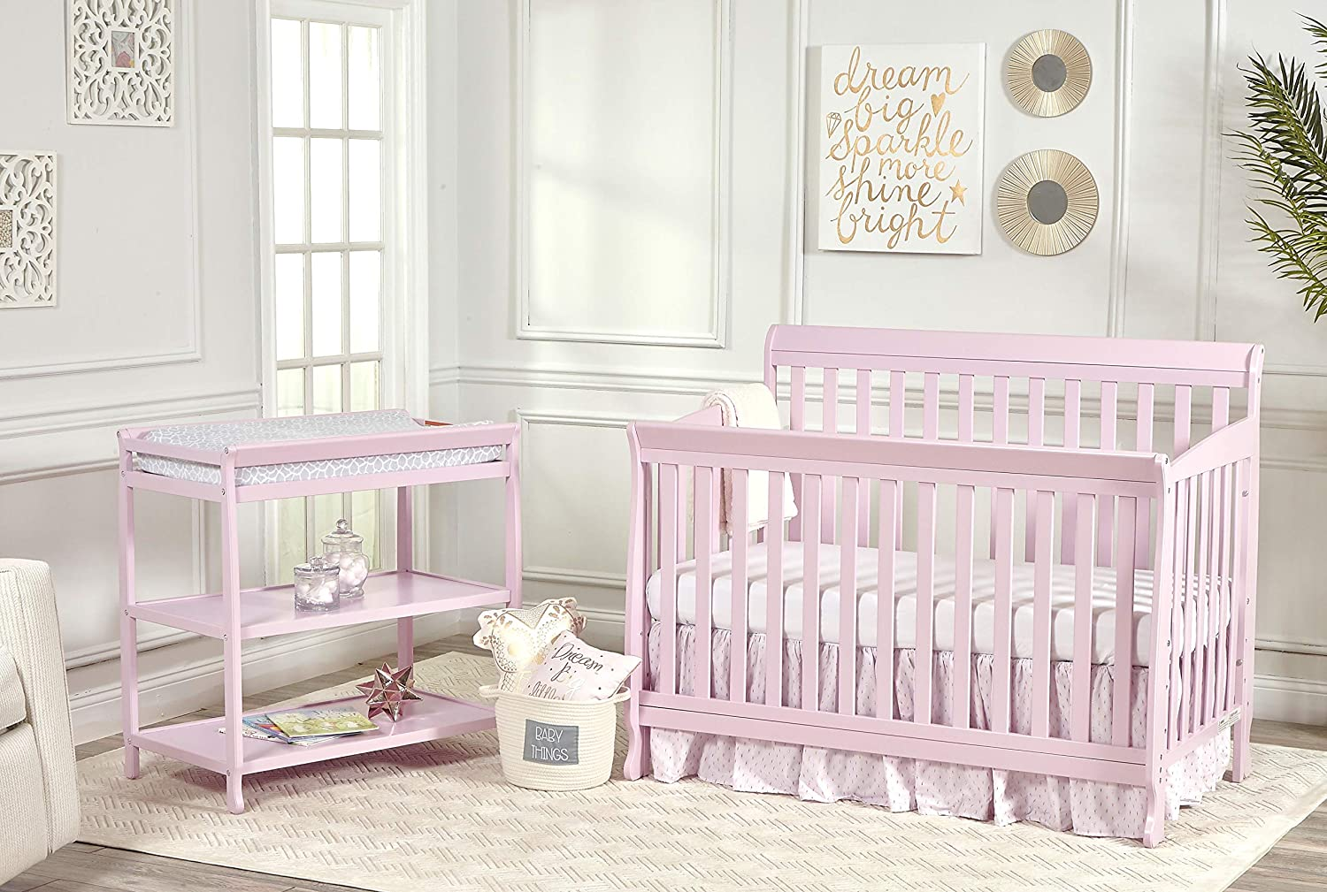 Suite Bebe Riley Changing Table Pink