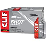 CLIF SHOT - Energy Gels - Double Expresso Flavor - 100mg Caffeine (1.2 Ounce Packet, 24 Count)