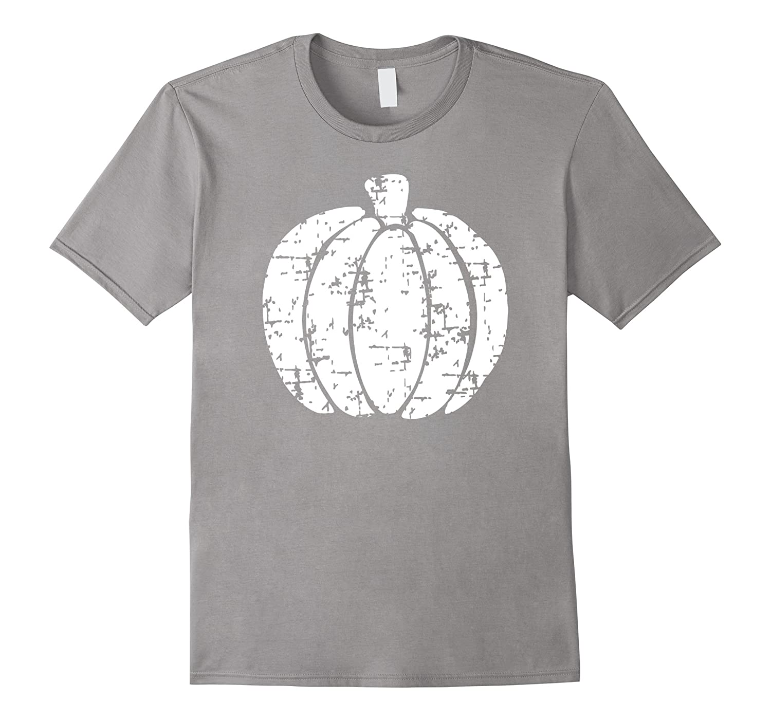 Halloween Shirt, Grunge Distressed Vintage Pumpkin T-Shirt-T-Shirt
