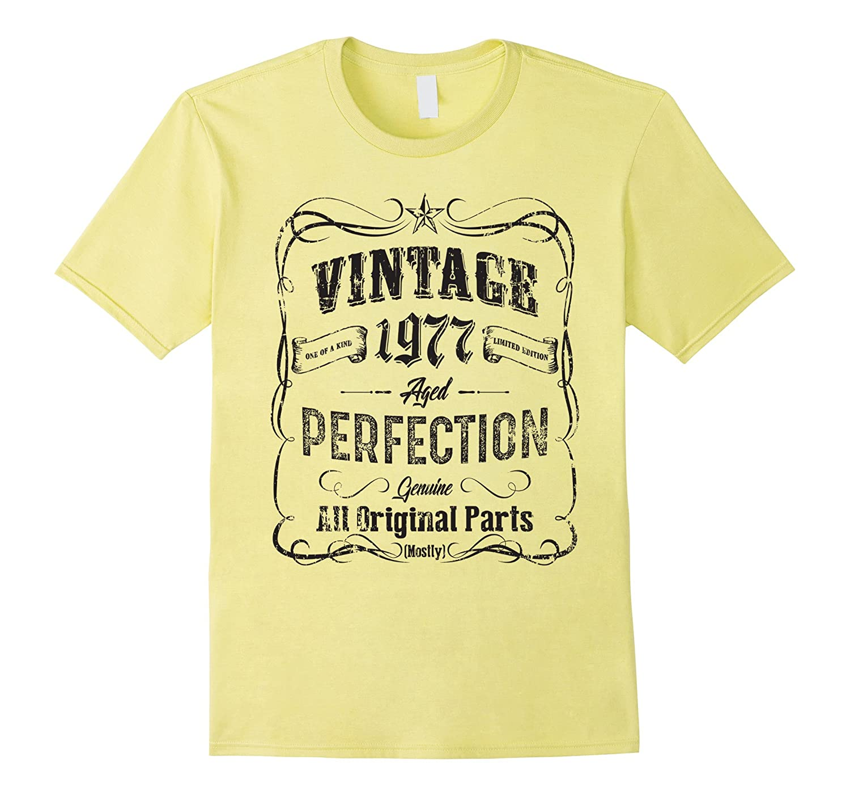 40th Birthday Vintage 1977 T-Shirt-BN