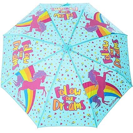 Regalos para Niñas -Paraguas Niña - Paraguas Infantil Cambia Color! Paraguas Plegables, Sombrillas Para El Sol! Detalles Cumpleaños Infantiles Para ...