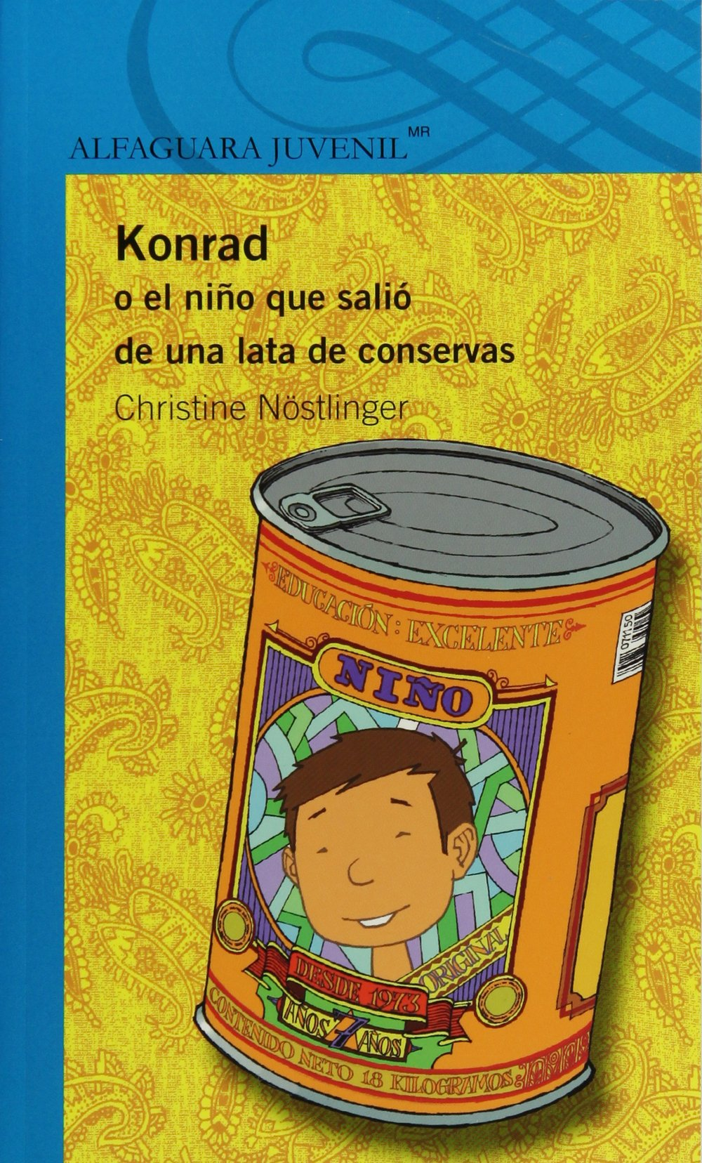 Amazon.com: Konrad o el niño que salio de una lata (Alfaguara Juvenil) (Spanish Edition) (9786070118937): Christine Nöstlinger, Ricardo Pélaez: Books