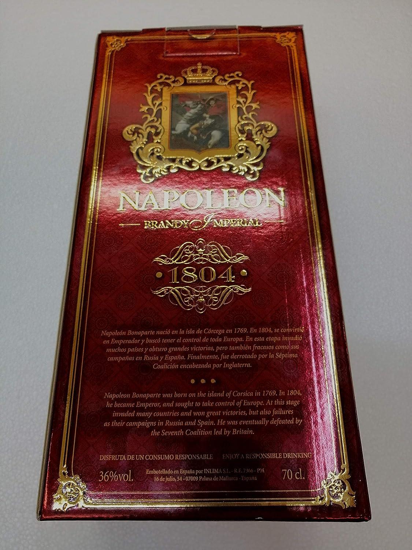 Napoleon Imperial Brandy (Figura) - 700 ml: Amazon.es: Alimentación y bebidas
