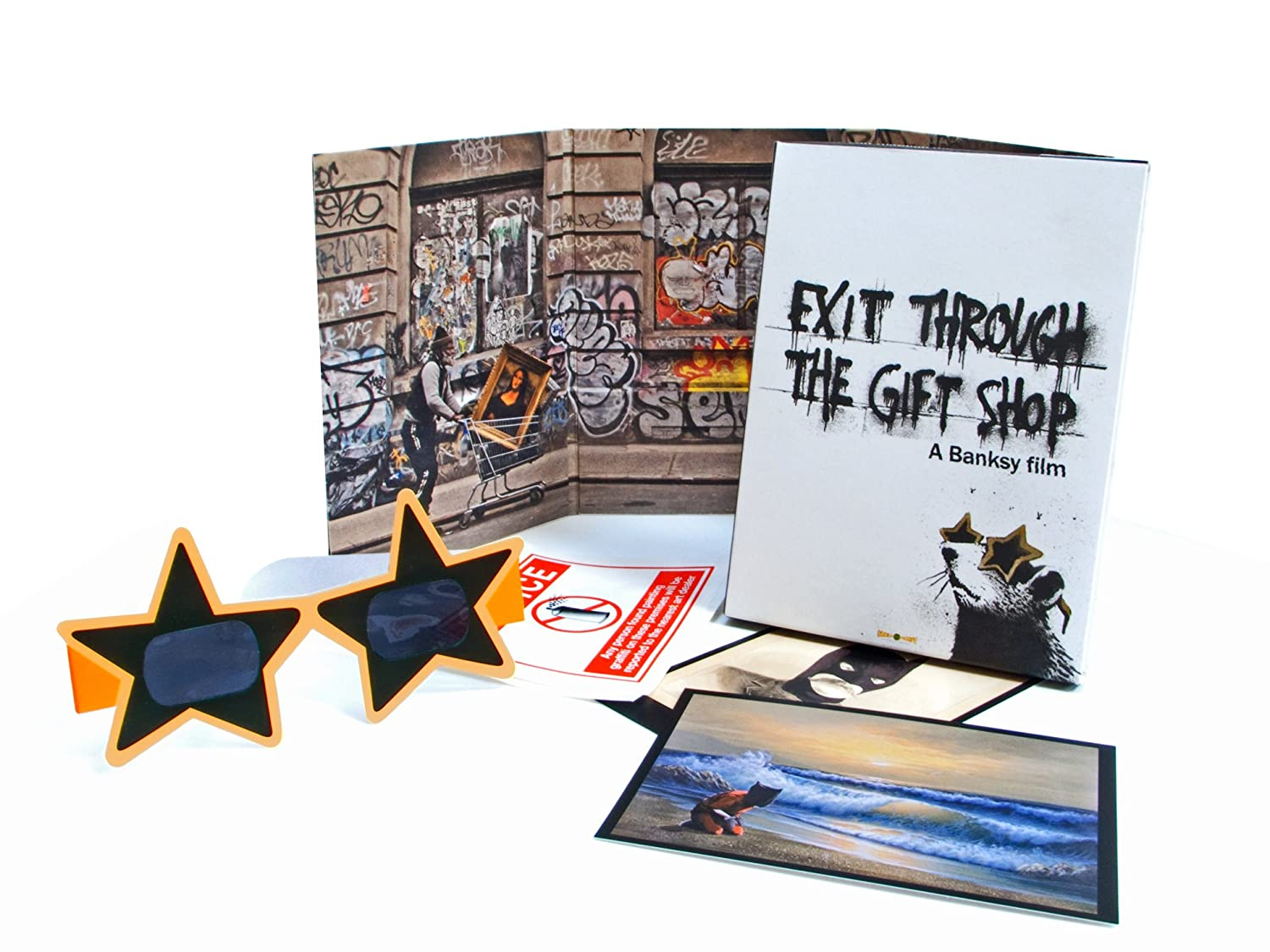Amazon.com: Exit Through the Gift Shop: Banksy, Thierry Guetta ...