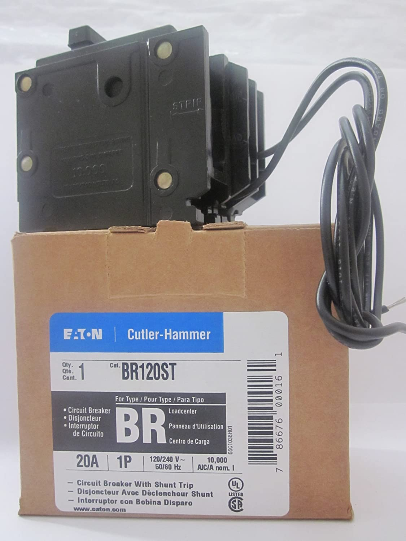 EATON CUTLER HAMMER BR230ST 2 Pole 30 Amp Type BR Shunt Trip Breaker