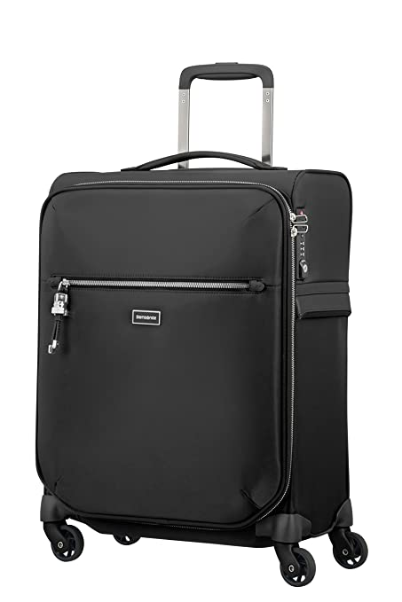 Amazon.com | SAMSONITE Karissa Biz - Spinner 55/20 Hand Luggage, 55 cm, 42 liters, Black | Carry-Ons