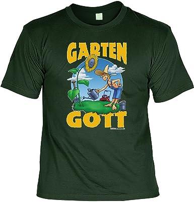 T Shirt Garten Gott Lustiges Spruche Shirt Als Geschenk Fur