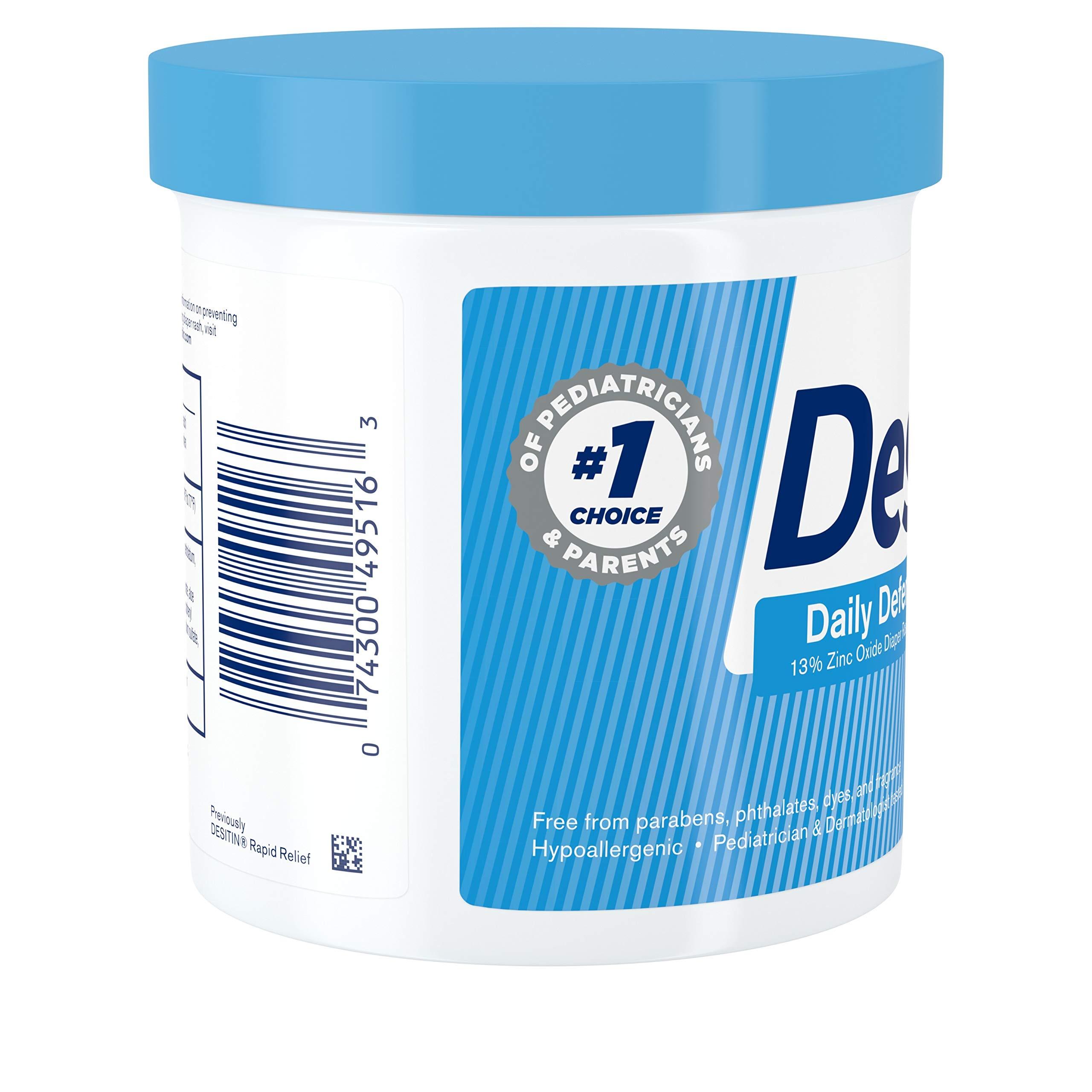 Desitin Daily Defense Baby Diaper Rash Cream with Zinc Oxide to Treat, Relieve & Prevent diaper rash, 16 oz by Desitin (Image #6)