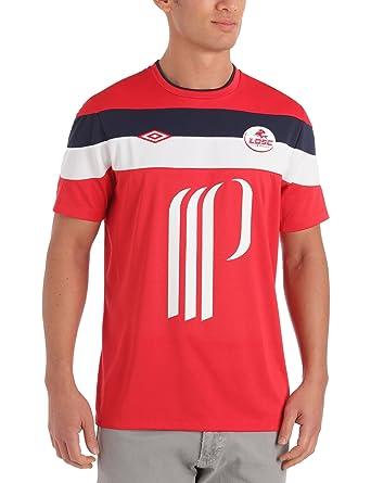 Umbro Camiseta de equipación de fútbol sala para hombre, tamaño XL, color rojo