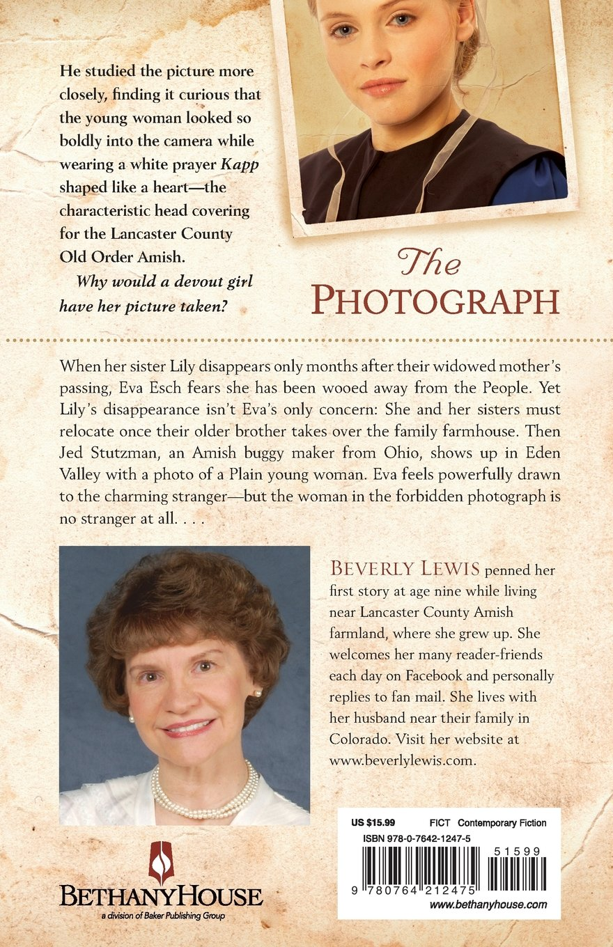 Amazon the photograph 9780764212475 beverly lewis books nvjuhfo Gallery