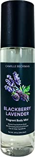 product image for Camille Beckman Fragrant Body Mist, Alcohol Free, Blackberry Lavender, 8 Ounce