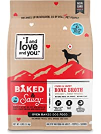 """""""I and love and you"""" Baked & Saucy Baked Dog Kibble"""