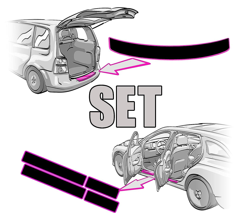Schutzfolie von CCW/© passend f/ür Seat Ateca Seat Ateca Einstiegsleisten Lackschutzfolie TRANSPARENT Folie