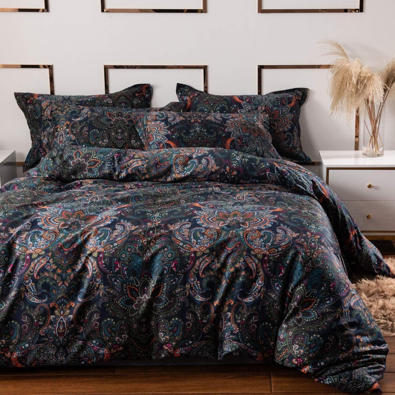Amazon.com: Softta Vintage Paisley Bedding Sets 3Pcs Duvet Cover