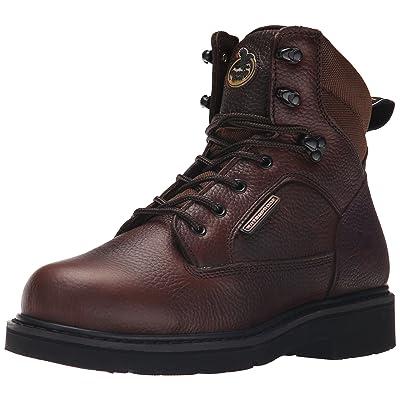 "Georgia Boot Men's Georgia Glennville 6"" Work Boot Work Shoe | Industrial & Construction Boots"