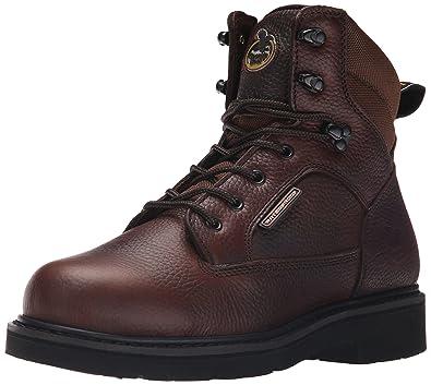 "Boot Men's Georgia Glennville 6"" Work Boot Work Shoe"