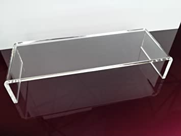 Beau Acrylic Perspex Monitor / TV Stand Riser (Clear)