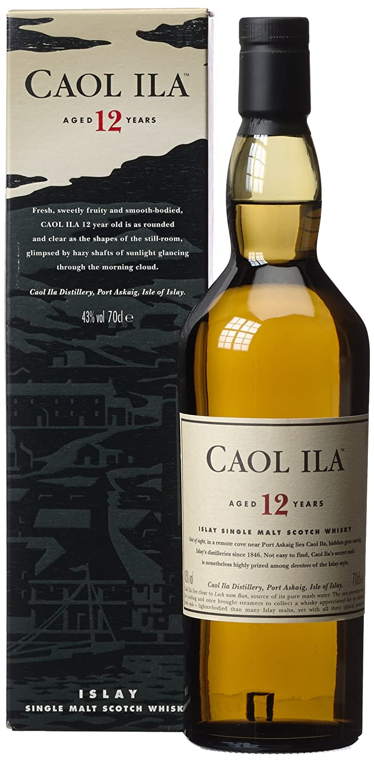Caol Ila 12 year old Islay malt whisky