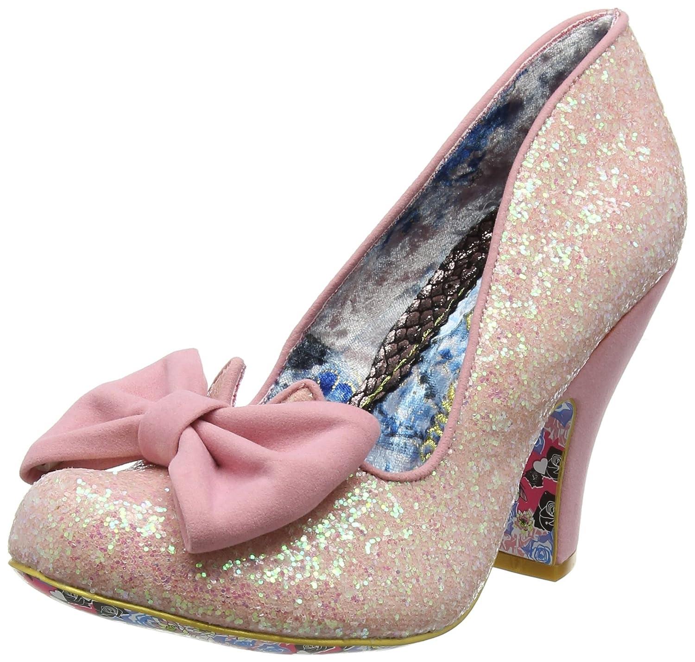 Irregular Choice Nick of Time, Zapatos de Tacón Mujer 43 EU|Rosa (Pink)