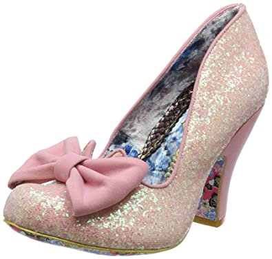 59465bf374fc Irregular Choice Women's Nick of Time Closed-Toe Heels: Amazon.co.uk ...