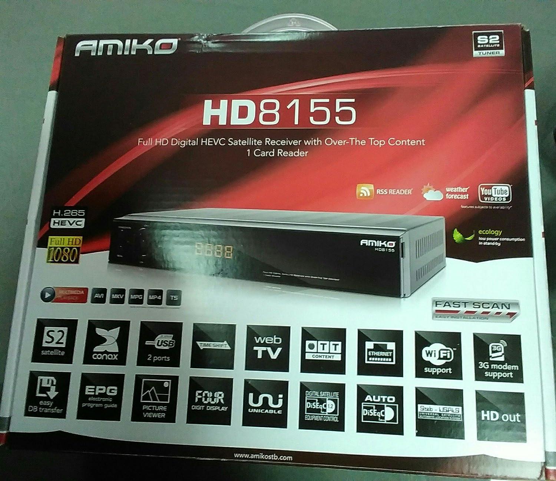 Amiko HD8155 DVB-S2 (H265)