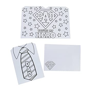 amazon com color your own my hero father s day cards health