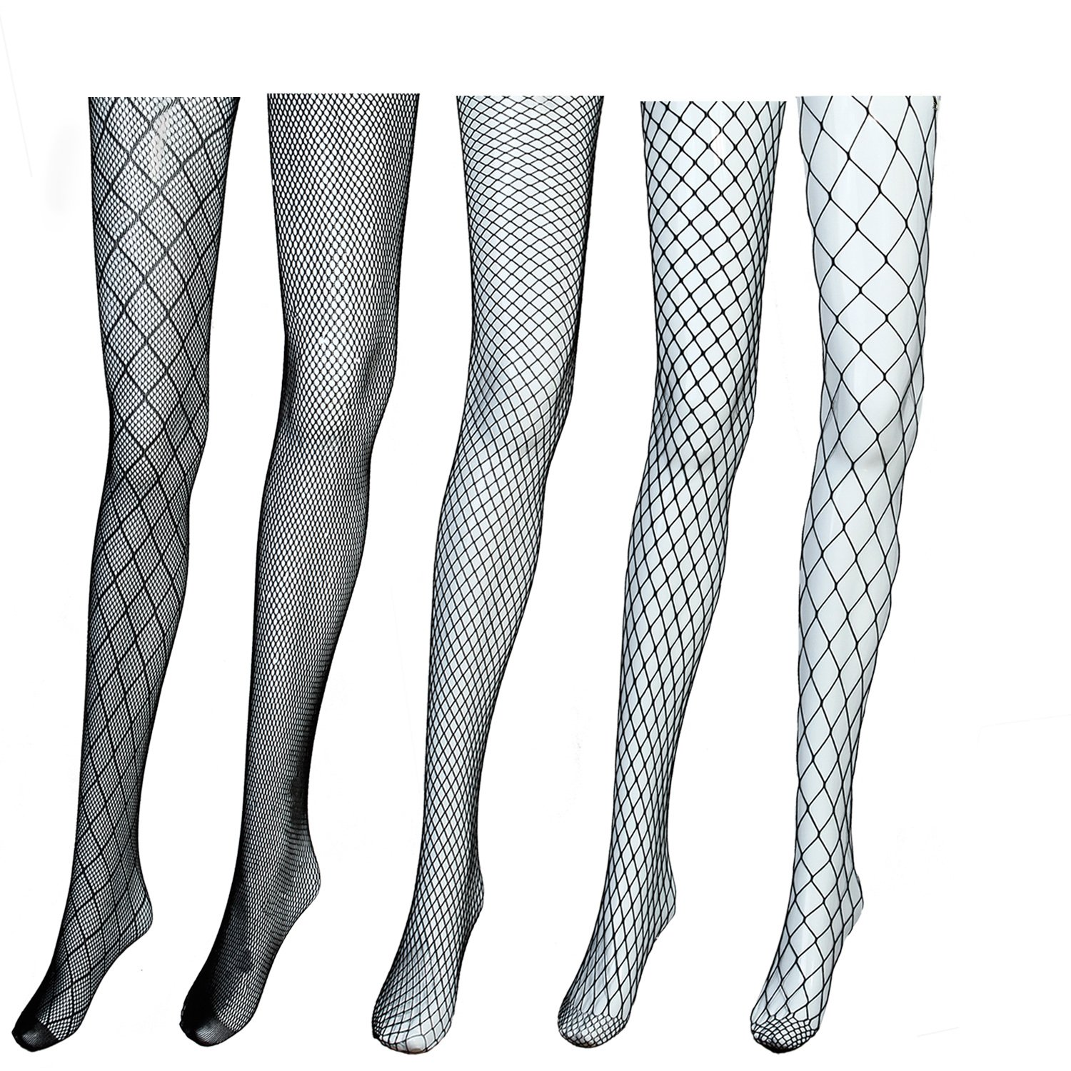 7e8e5d64b86388 ... rhombuses with small mesh, medium mesh, large mesh and ultra large  mesh, different choices fit your different purposes. Trendy and sexy  fishnet tights: ...