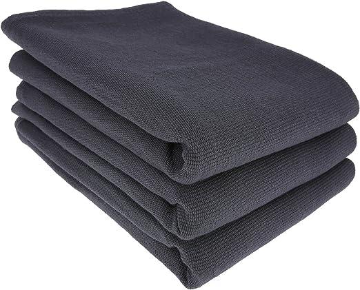 3 x – Trapo/Paño de cocina y gamuza de limpieza/100% algodón en ...